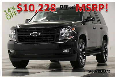2020 Chevrolet Tahoe Premier 4X4  Sunroof  Navigation Heated Cooled Lea New 6.2L Heated Cooled Leather Navigation Camera 7 Passenger 22 In RIms 19 2019