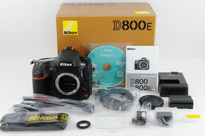 [1190 shot MINT- Boxed ] NIKON D800E 36.3MP FX Format DSLR Body from Japan 406
