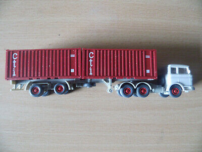 WIKING 1 MB 2223 Container-Sattelzug .
