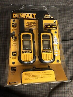DEWALT DXFRS800 22-Channel Two-Way Radios