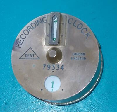 """Vintage WATCHMAN""""S RECORDING CLOCK by DENT"""
