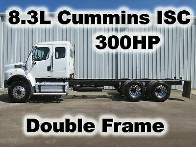 M2 106 Cummins 300Hp 8Ll Trans  Chassis Straight Double Frame Tandem Axle Truck