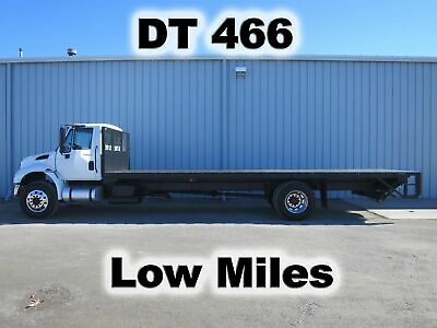 4400 Dt466 Diesel 270-Hp 26Ft Flat Stake Bed Body Haul Delivery Lift Gate Truck