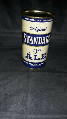 Standard Dry Ale 12oz Flat Top Beer Can Vintage And Collectible