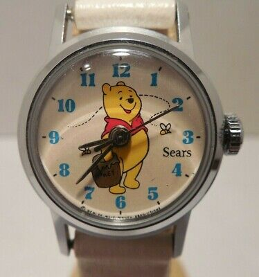 Rare Vintage Walt Disney Productions Winnie The Pooh Child's Watch Sold By Sears