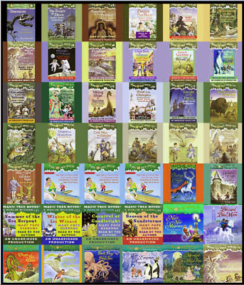 Magic Tree House collection Books Box Set 1-55 by Mary Pope Osbourne (E-βOOK) 🔥