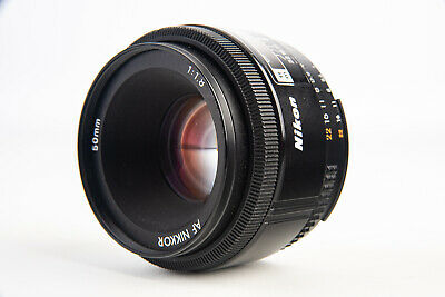 Nikon AF Nikkor 50mm f/1.8 Standard Prime Lens for FX and DX TESTED V11