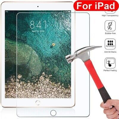 For Apple iPad 7th Generation 10.2 inch (2019) Tempered Glass Screen Protector