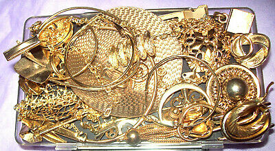 Gold Recovery Scrap - Plated Jewelry Lot - 100 g - Reverse Electrolysis Refining