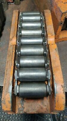 4 Used Hilman 100 Ton Machinery Skate Movers / Rollers Rigger