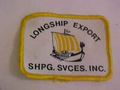 Longship Export Shipping Services Inc Hat Patch
