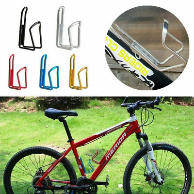 New  Aluminum Alloy Sports Bike Cycling Drink  Water Bottle Holder Rack Cages UK