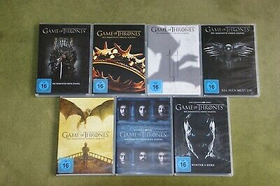 Game of Thrones:: DVD-Sammlung Staffel 1- 7