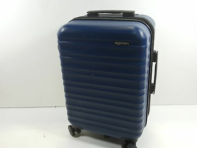 Hardside Carry On Spinner Travel Luggage Suitcase - 21 Inch, Navy Blue