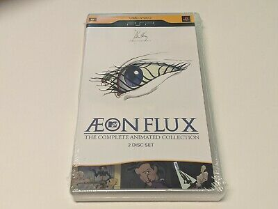 *NEW/SEALED* AEON FLUX The Complete Animated Collection 2-Disc PSP UMD Video Set