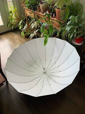 "Westcott Apollo Deep Umbrella (White, 53"") + Diffusion Panel"