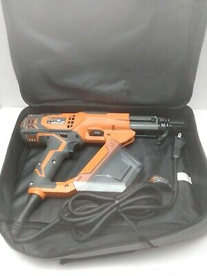 "Ridgid R6791 3""Inch Collated Drywall And Deck Corded Screwdriver"