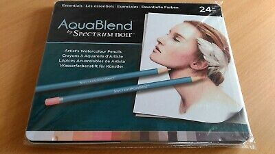 AquaBlend Artist's Watercolour Pencil Set by Spectrum Noir - ESSENTIALS - BNIP