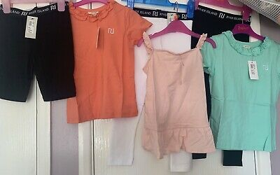 Girls River Island Bundle 6 Items Age 4-5 Years New With Tags