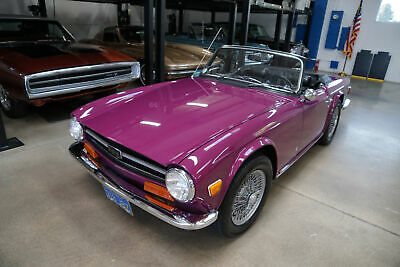 1973 Triumph TR6 with 33K original miles!  33,188 Miles 6 cyl ManualConvertible