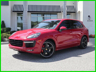 2017 Porsche Cayenne GTS 2017 GTS Used Turbo 3.6L V6 24V Automatic AWD SUV Moonroof