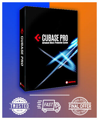 🔥🔥 Steinberg Cubase Pro 10.5 ✔ Nuendo 10 Pro ✔Full Edition ✔Fast Delivery 🔥🔥