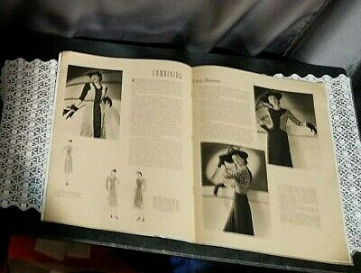 vtg Singer machine Make Over Guide Sewing booklet 1940s WW2 1940S dresses 1942