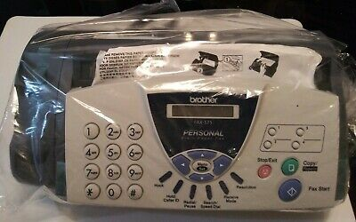 Brother Fax-575 Personal Paper Fax Phone and Copier Factory Refurbished