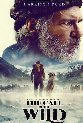 The Call Of The Wild - Harrison Ford (DVD 2020) Super Fast Shipping!