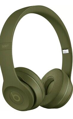Beats Dr. Dre Solo3 Noise Cancelling Bluetooth Wireless  Turf Green