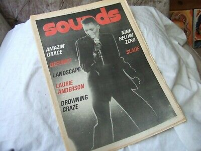 Sounds magazine 17th October 1981
