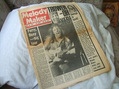 Melody Maker 30th August 1975