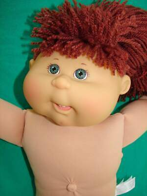 """Excellent 16"""" AUBURN Pony Hair TEAL Eye Cabbage Patch Kid PA1 DOLL 04 Play Along"""