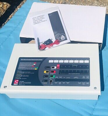 NEW C-Tec LPCB Approved CFP 2/4/8 Zone Conventional Fire Alarm Control Panel