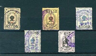 Liverpool Cotton Traders Carriage Stamps  (5)     (J236)