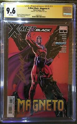 J. Scott Campbell Signed CGC graded 9.6 X-Men Black- Magneto #1