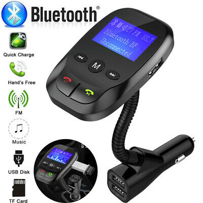 Wireless Carluetooth FM Transmitter MP3 Radio Adapter Car Kit USB Charger