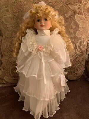 "Vintage American SweetHeart Collection Hand Made 17"" Porcelain Doll Blythe"