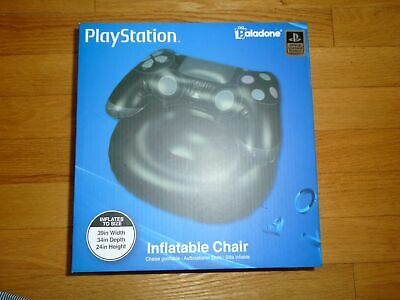 Playstation Inflatable Chair Paladone Gaming Chair Black New in Box