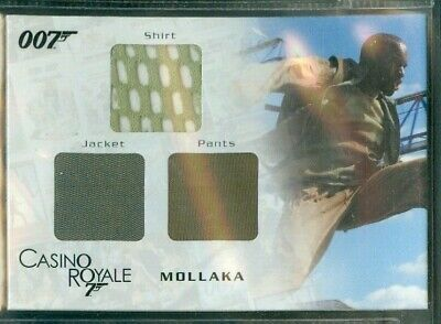 James Bond In Motion ( TC02 ) Mollaka's Triple Costume Card