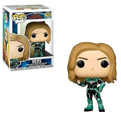 FUNKO POP! Vinyl Captain Marvel Vers POP! Vinyl Boxed Figure #427 SALE!