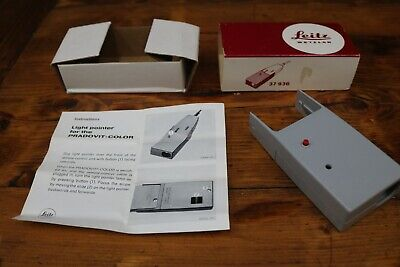 Leitz Leica 37936 Pradovit Color Slide Projector Light Pointer Boxed