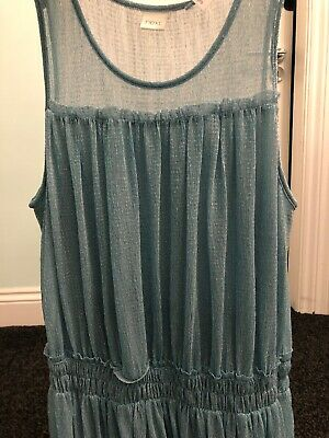 Girls NEXT Blue Party Dress Summer Gorgeous Sparkly Age 10 Bnwt