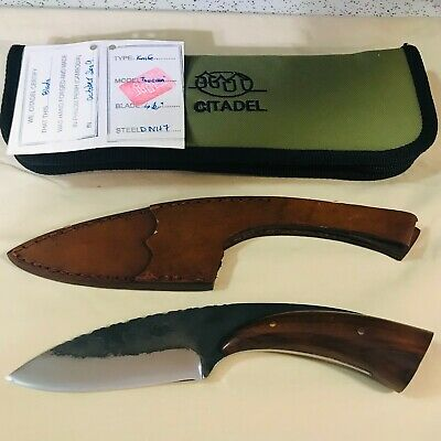 Citadel Hand Forged 2009 Toucan Camp Knife