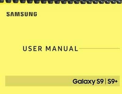 Samsung Galaxy S9 S9+ Verizon OWNER'S USER MANUAL