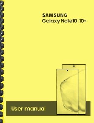 Samsung Galaxy Note 10 10+ AT&T OWNER'S USER MANUAL