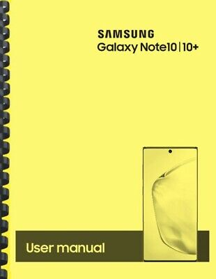 Samsung Galaxy Note 10 10+ T-Mobile OWNER'S USER MANUAL