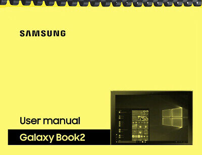 Samsung Galaxy Book 2 Tablet AT&T OWNER'S USER MANUAL
