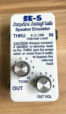 Surprise Sound Lab · USA · 5W Load Box & Speaker Emulator SE-5
