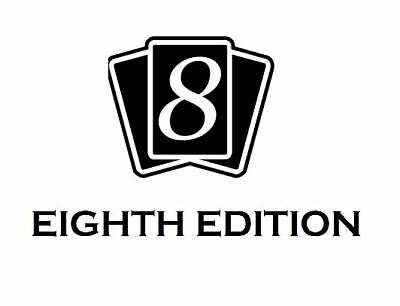 MTG Magic EIGHTH EDITION  - Full Complete ENGLISH Set - 350 Cards